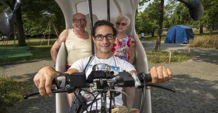 Taxi-bike